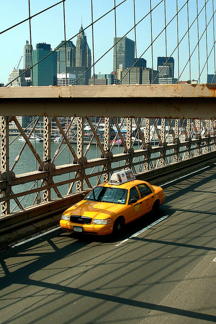 bridge, meghan , new york, nyc, taxi
