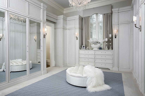 closet, interior design, mirrors