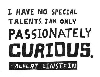 curious, einstein, passion, quotation, quote
