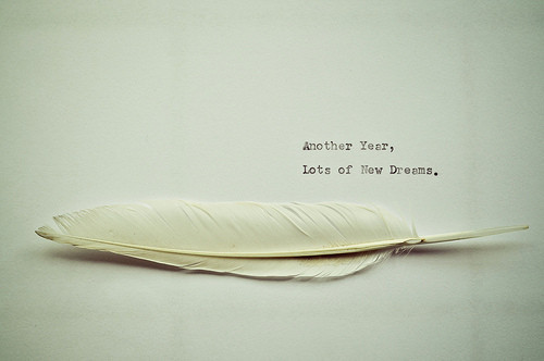cute, dream, feather, inspiration, new years