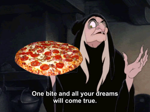 dat bitch, pizza, snow white, true, truth