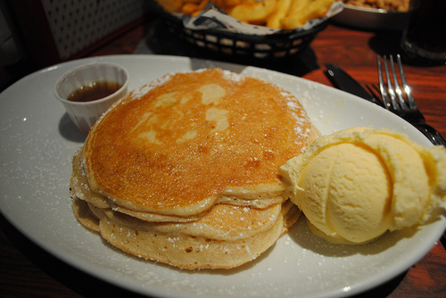 delicious, dessert, food, ice cream, pancakes