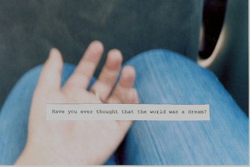 dream, hand, note, quote, text, words, world