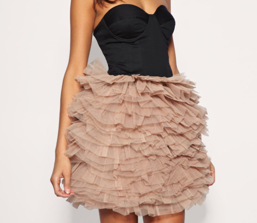 dress, girly, pink, pretty, ruffles