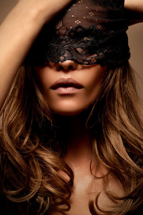 fashion, girl, mask, photography, sexy - image #181767 on ...