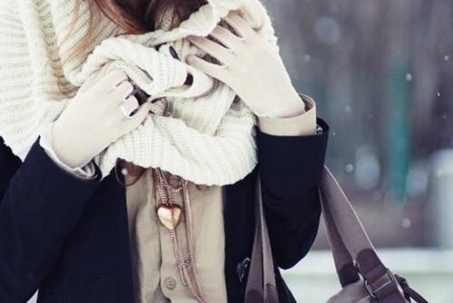 fashion, heart, scarf, warm, winter