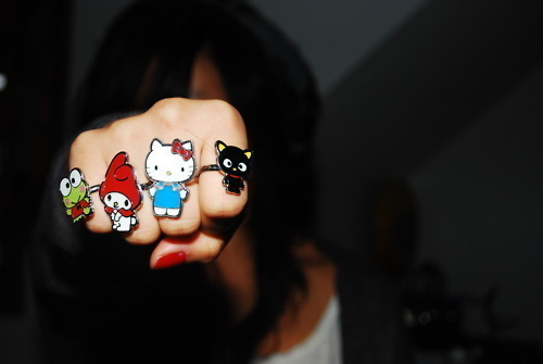 fashion, hello kitty, photography, ring, sanrio