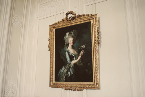 frame, france, french, marie antoinette, painting, portrait, versailles