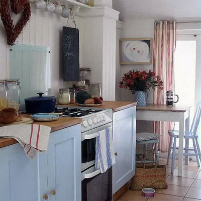 interiors, kitchen, vintage