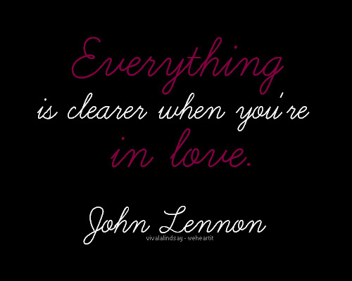 john lennon, love, quote, text
