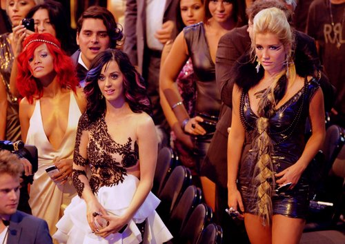 katy perry, ke$ha, rihanna