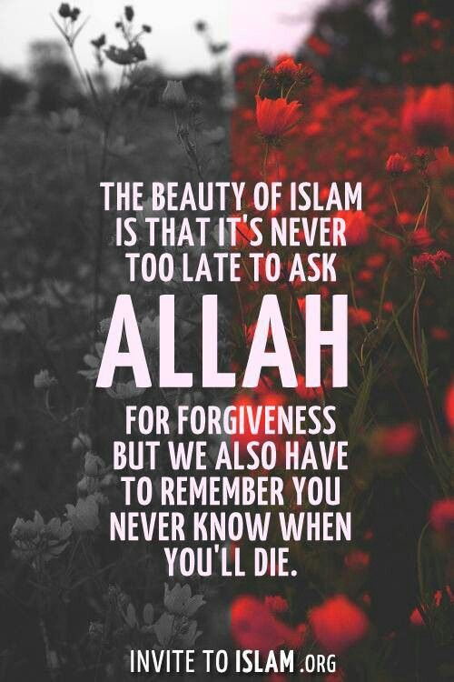 Please Forgive My Shortcomings Allah For The Image