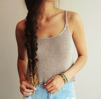 braid, brown, girly, hair, love, need, outfit, want