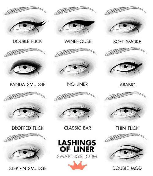 how to make the wing with eyeliner