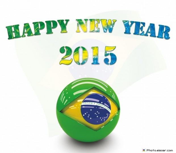 brazil, feliz ano novo and happy new year
