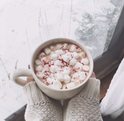 candy canes, caramel, christmas and cozy