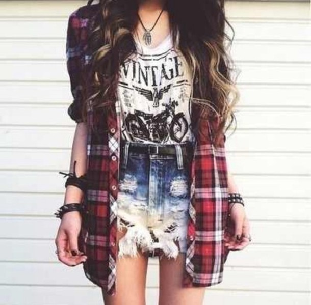 Cute Fashion Girl Hipster Indie Nice Rock Image 2339760 By Tinista On
