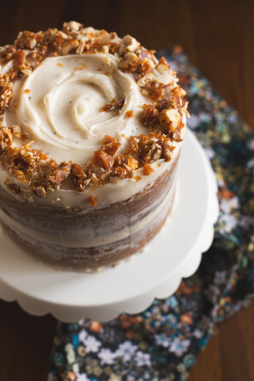 PUMPKIN CAKE WITH BROWN BUTTER CREAM FROSTING | - image #2349501 by ...