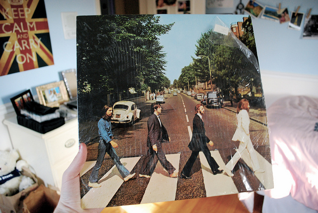 abbey road, album, beatles, bedroom, england