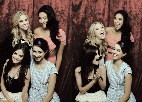 ali, aria, emily, hanna, hannah, pll, pretty little liars, show, spencer