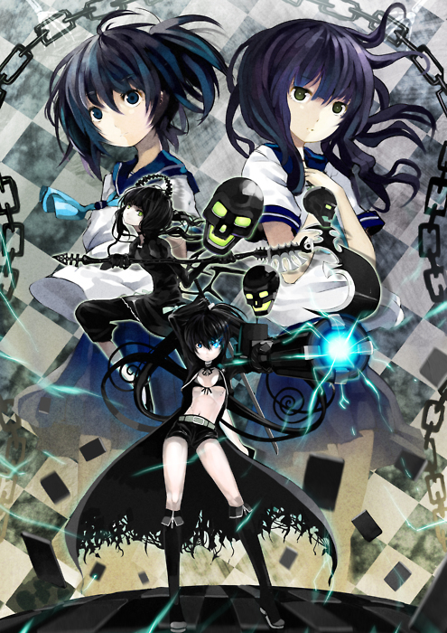 Black rock shooter yomi anime