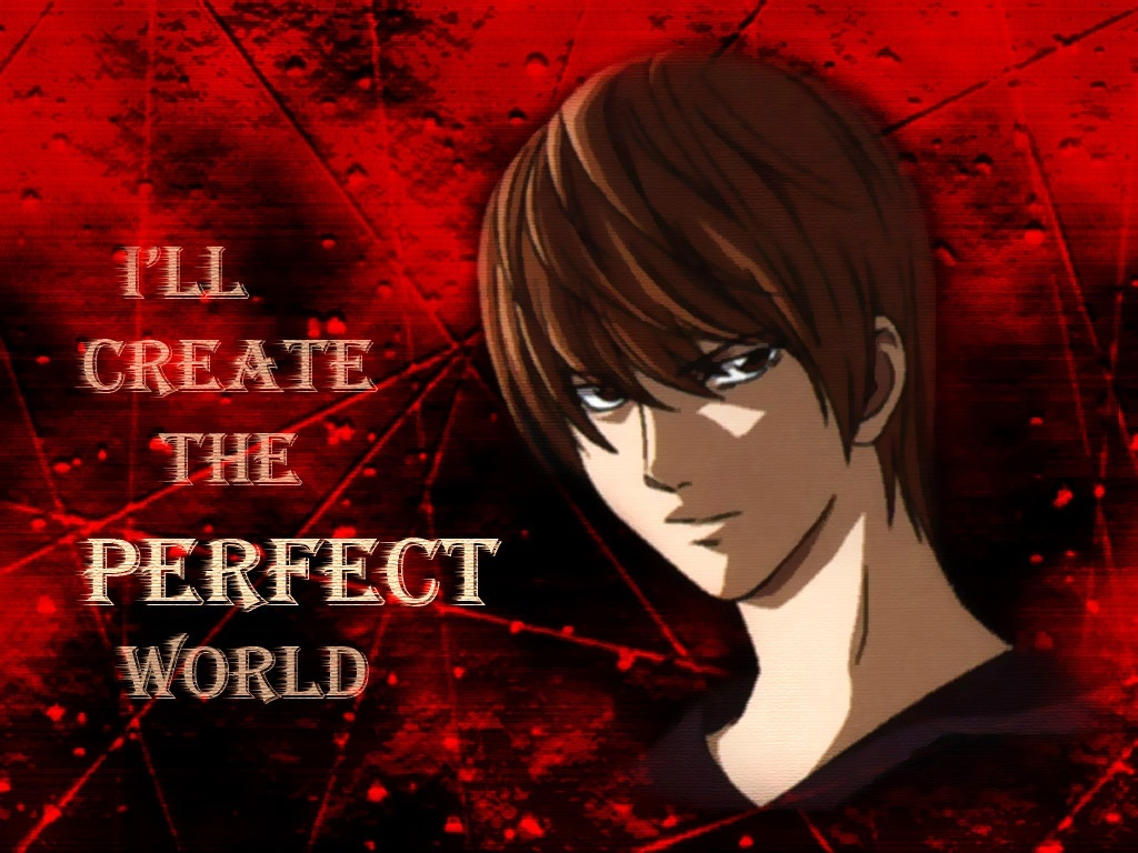 anime, boy, death note, kira, text