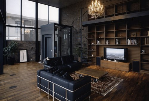 apartment, architecture, charming, dark, home