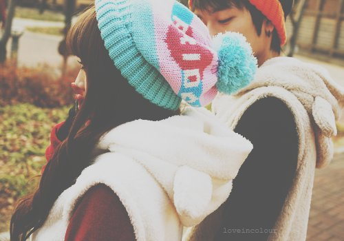 asian, boy, cute, girl, winter