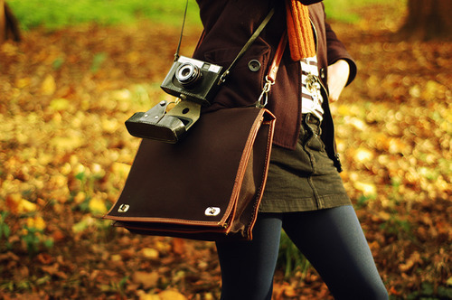 autumn, cameras, fashion, girl, para laila, photography, vintage