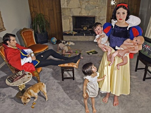 babies, baby, dog, family, funny, house, husband, julia e luan, kids, marriage, snow white, wife