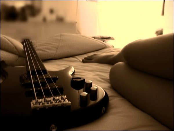 bad, guitar, it is a bass, music, song