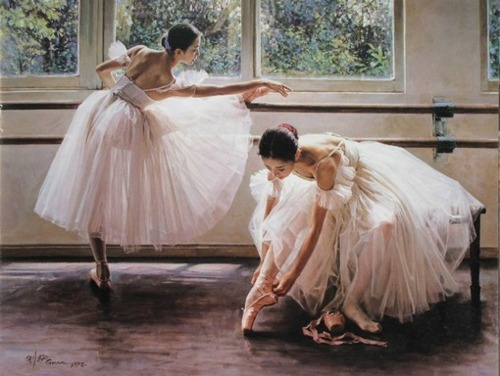 ballet, dancers, pink, pretty, tulle