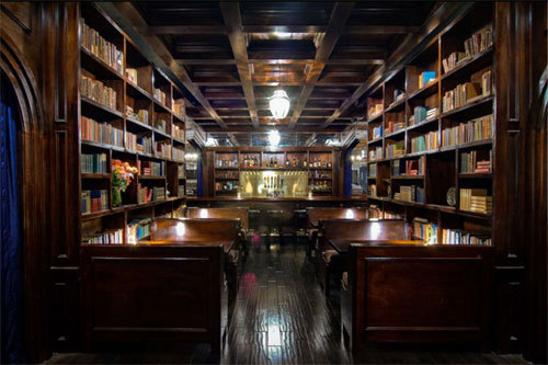 bars, books, cool, decor, design