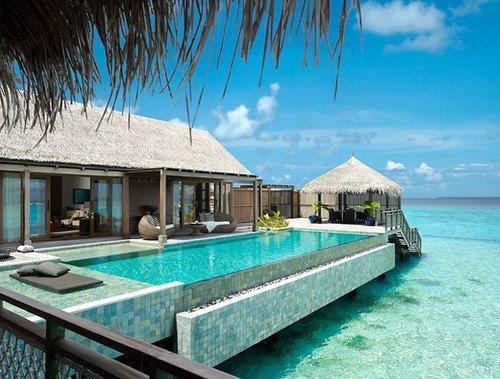 beach, beauty, holiday, house, hut