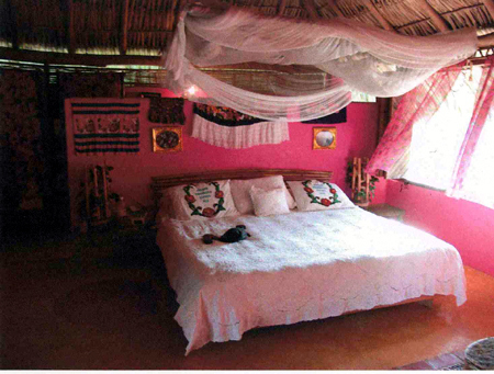 beach, bedroom, betsey johnson, fashion, pink, pretty, relaxing, tiki hut