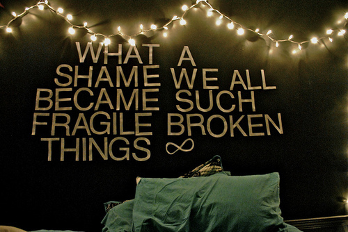 beautiful, bed, black, broken things, cute, dark, darkness, fashion ...