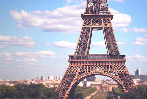 Beauty eiffel tower france nature paris sky