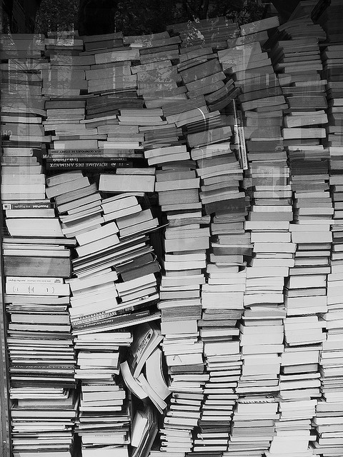 black and white, book, books, literature, photography