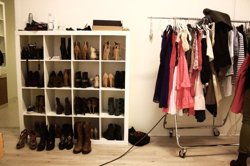 black, boots, clothes, fashion, flats