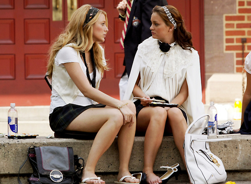 blake lively, friends, gossip girl, leighton meester