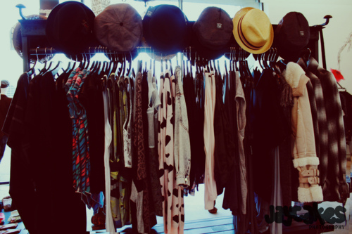 blouse, cardigan, fashion, fedora, hats