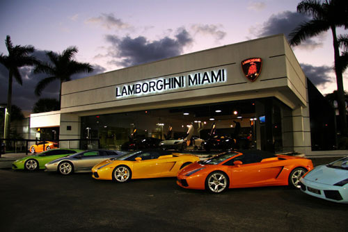 blue, cars, green, lamborghini, luxury, miami, orange, silver, yellow