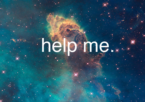 blue, emo, help, lol, nebula, space, stars