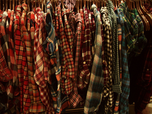 blue, fashion, flannel, plaid, red