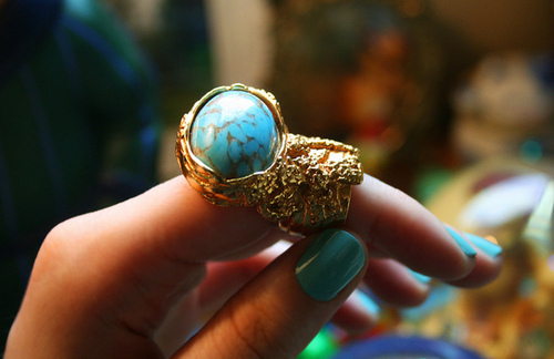 blue, gold, hand, jewelry, nails