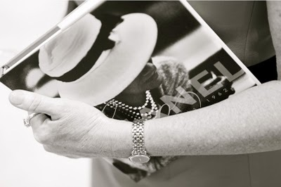 book, chanel, coco, pearls, photography