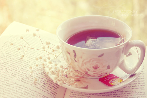 book, photography, tea