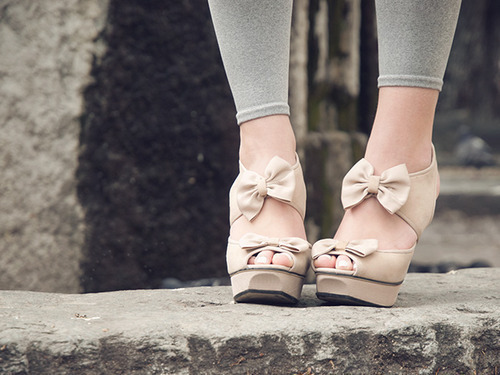 bows, cute, girly, shoes