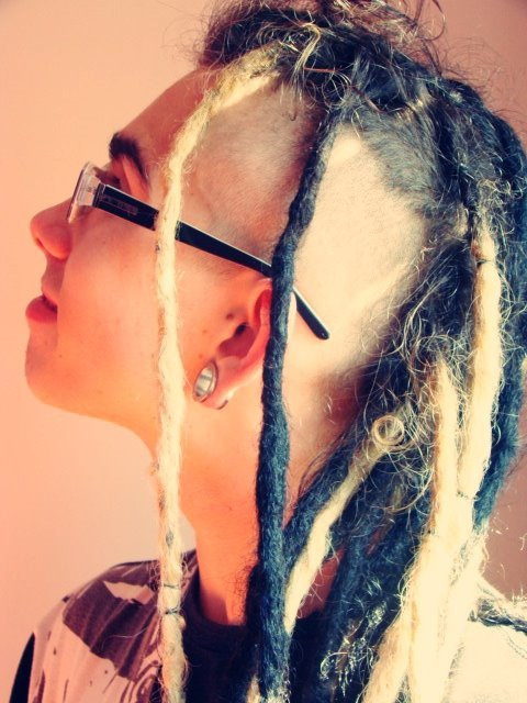 Boy  Dreads  Hair  Love  Moicano