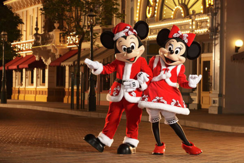 christmas, disney, mickey, mickey mouse, minnie
